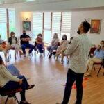 """Прва обука за членките на Платформата """" Младите против насилство """""""